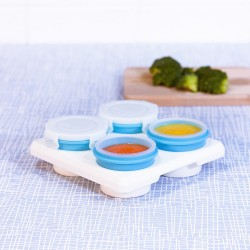 【台灣製】2angels矽膠副食品 60ml儲存杯