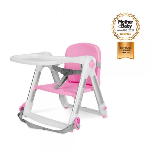 (預訂)英國 Apramo Flippa 便攜餐椅(櫻花粉)