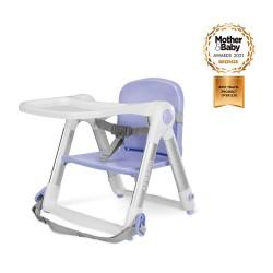 英國 Apramo Flippa 便攜餐椅(香芋紫)