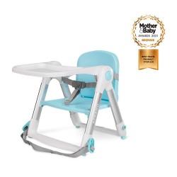 (預訂)英國 Apramo Flippa 便攜餐椅(天空藍)