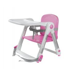 英國 Apramo Flippa 便攜餐椅(粉紅色)