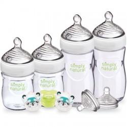 美國 NUK Simply Natural Newborn Gift Set 自然母乳奶樽套裝