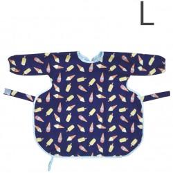 澳洲 Calmbee 神奇防漏飯衣-長袖款L碼 (雪糕甜筒)