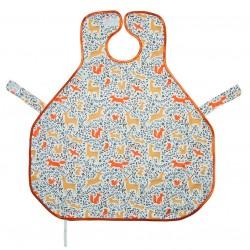澳洲 Calmbee 神奇防漏飯衣-背心款 (森林動物)