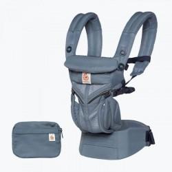美國 ERGOBABY OMNI 360 全階段型四式嬰兒揹帶透氣款(牛津藍)(優惠商品不免運費)