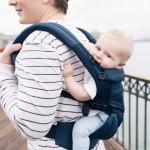 美國 Ergobaby Omni 360 全階段型四式嬰兒揹帶透氣款(午夜藍)(優惠商品不免運費)