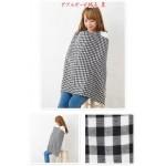 日本品牌 棉麻哺乳巾