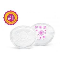 美國 Medela Safe & Dry™ Ultra Thin Disposable Nursing Pads 超薄即棄防溢乳墊 (60片)