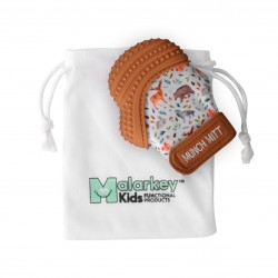Malarkey Kids Munch Mitt咬咬手套(森林動物)| 牙膠結合手套,唔再怕BB食手指啦