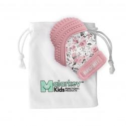 Malarkey Kids Munch Mitt咬咬手套(玫瑰花園)| 牙膠結合手套,唔再怕BB食手指啦