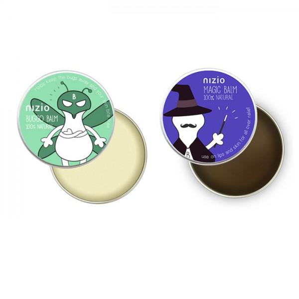 【英國製】Nizio 蟲蟲飛防蚊膏+魔傑克魔法膏組合