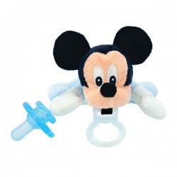美國 Nookums 安撫奶嘴公仔迪士尼限量款【奶嘴Disney Buddy】(米奇)