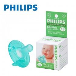 【美國製】Philips Soothie Natural 飛利浦安撫奶嘴 0-3m(香草味)