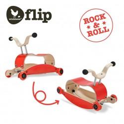 (倉庫直送)紐西蘭 Wishbone Mini-Flip 三合一搖馬/學步車/滑步車